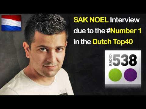 SAK NOEL Interview @ Number 1 DutchTOP40 (Radio358)