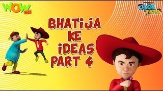 Bhatije Ke Ideas- Part 4 | Chacha Bhatija -Funny Compilations - 3D Animation Cartoon for Kids
