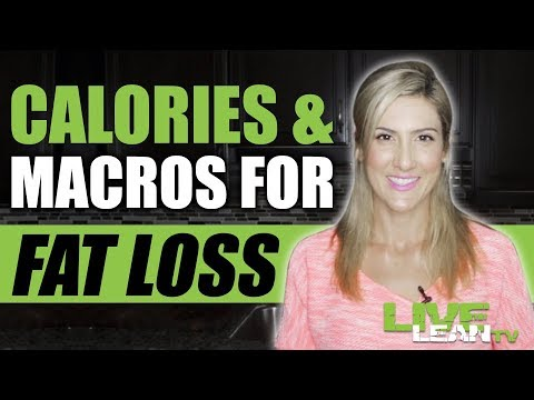 How To Figure Out Your Calorie and Macro Goals for FAT LOSS