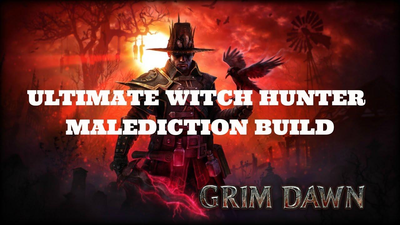 grim dawn witch hunter