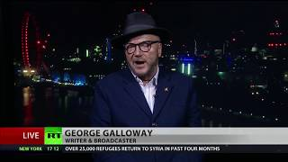 Galloway on London 'terrorist incident': We contributed to this directly and indirectly