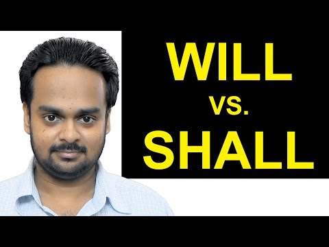 Difference between will must and shall in requirements