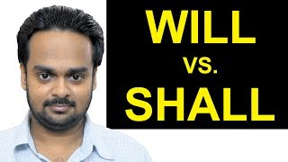 Will Vs. Shall - Whats The Difference? - Basic English Grammar