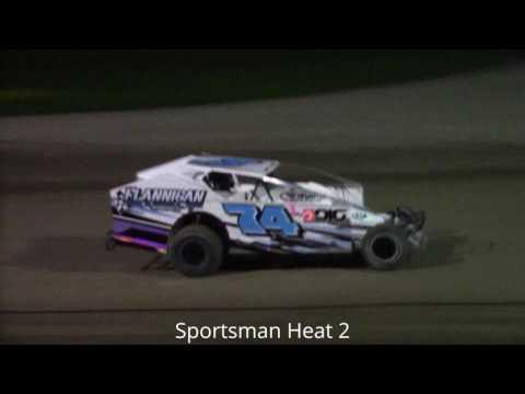 Ransomville Speedway Sportsman Heat Races 5-12-17