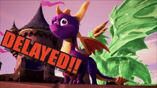 Spyro Reignited Trilogy Has Been Delayed!!!