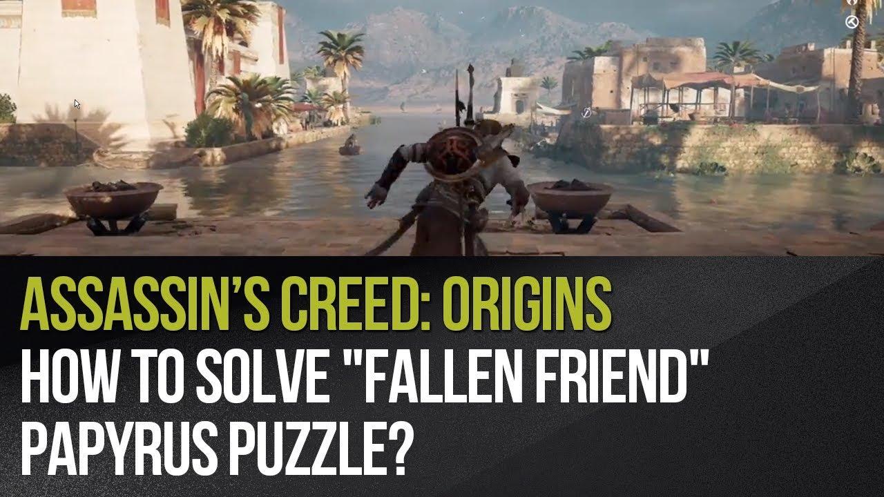 Assassins Creed Origins Papyrus