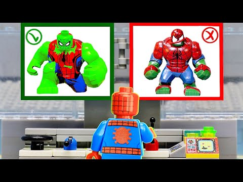 Spider-man Escape From Prison Fail In Spider-verse | Lego Stop Motion