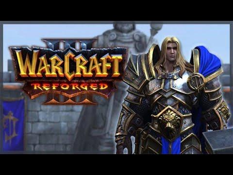 Warcraft 3 Reforged.Пролог и компания Людей