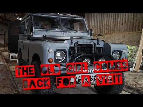Land Rover Series 2 Facelift - Few Trailer Mods