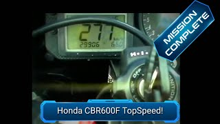 2006 Honda CBR 600 F Top Speed
