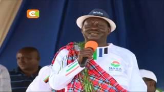 Viongozi wa NASA wazuru Nandi, Eldoret