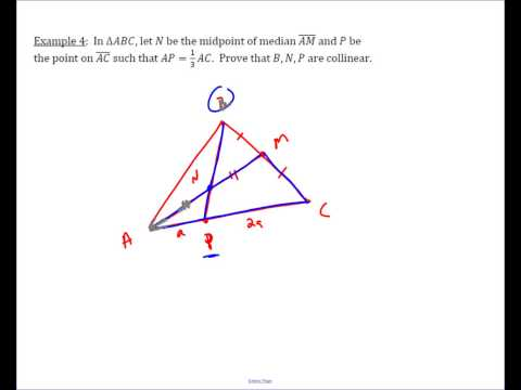 Example: Using Menelaus to Prove Points Collinear
