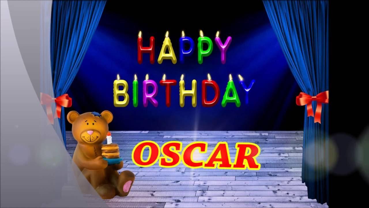 Feliz Cumpleanos Oscar Youtube