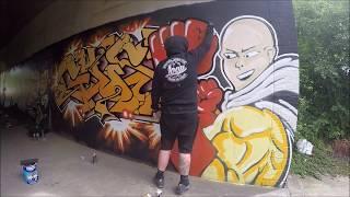 Graffiti - Ghost EA - One Punch Man