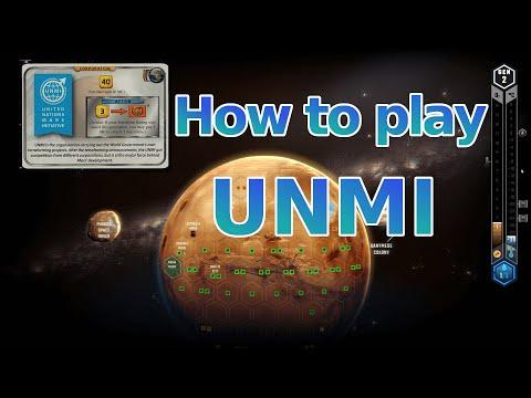 Terraforming Mars Tutorial  - How to play UNMI |