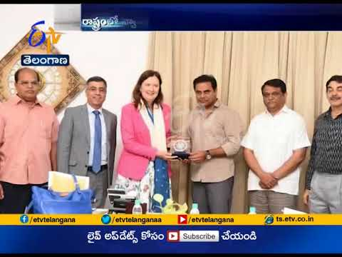Australian Consulate General Meets Minister KTR | Discussed on Establishing Industry