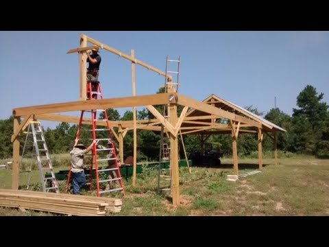 Building Sawmill Shed Youtube