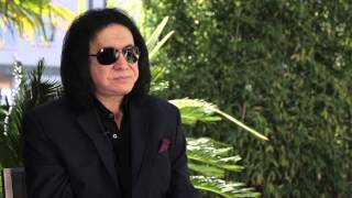 "Interview with the ""powerful & attractive"" Gene Simmons, on Busted"