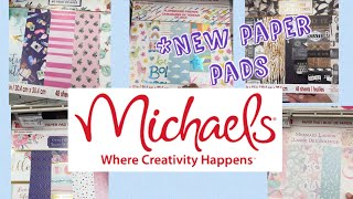 *NEW Michaels paper pads by Craftsmith