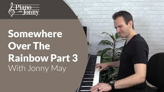 Somewhere Over the Rainbow - Full Lesson Part 3 - Quartal Voicings