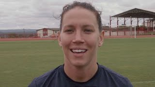 Lauren Holiday is the 2014 U.S. Soccer Female Athlete of the Year