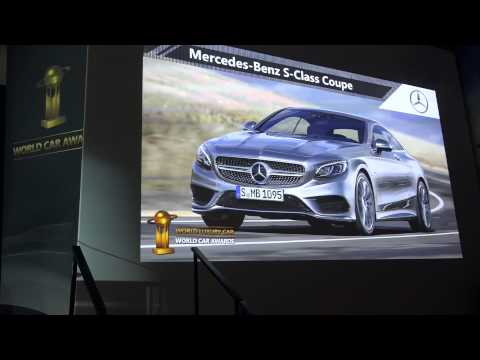 2015 Mercedes-Benz S Coupé wins World Luxury Car of the Year Award