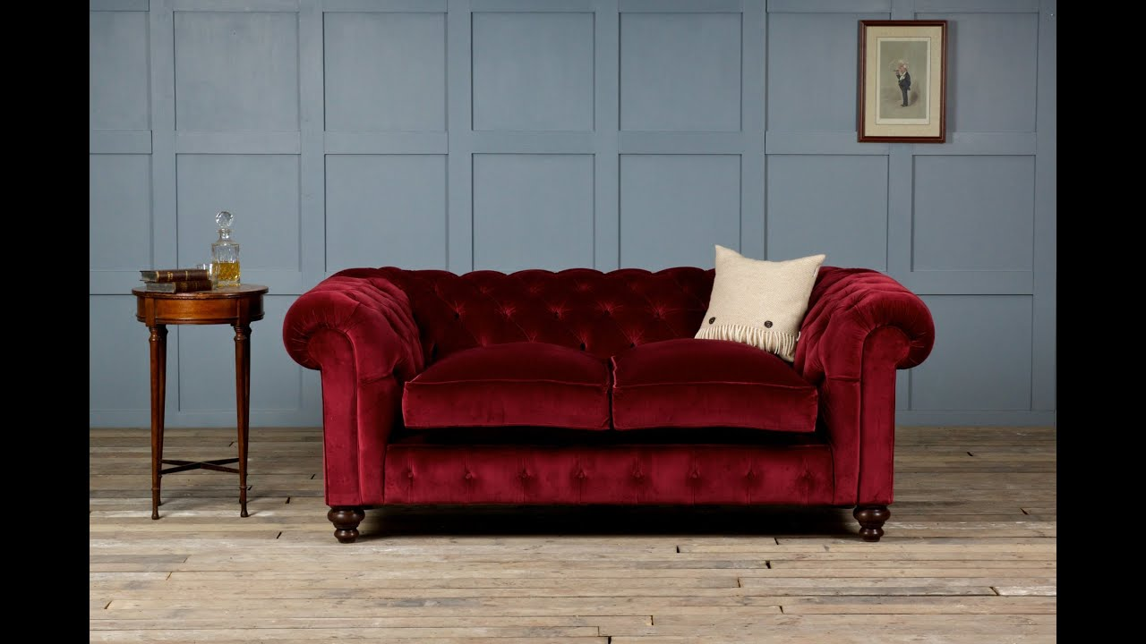 Beau Velvet Sofa   YouTube