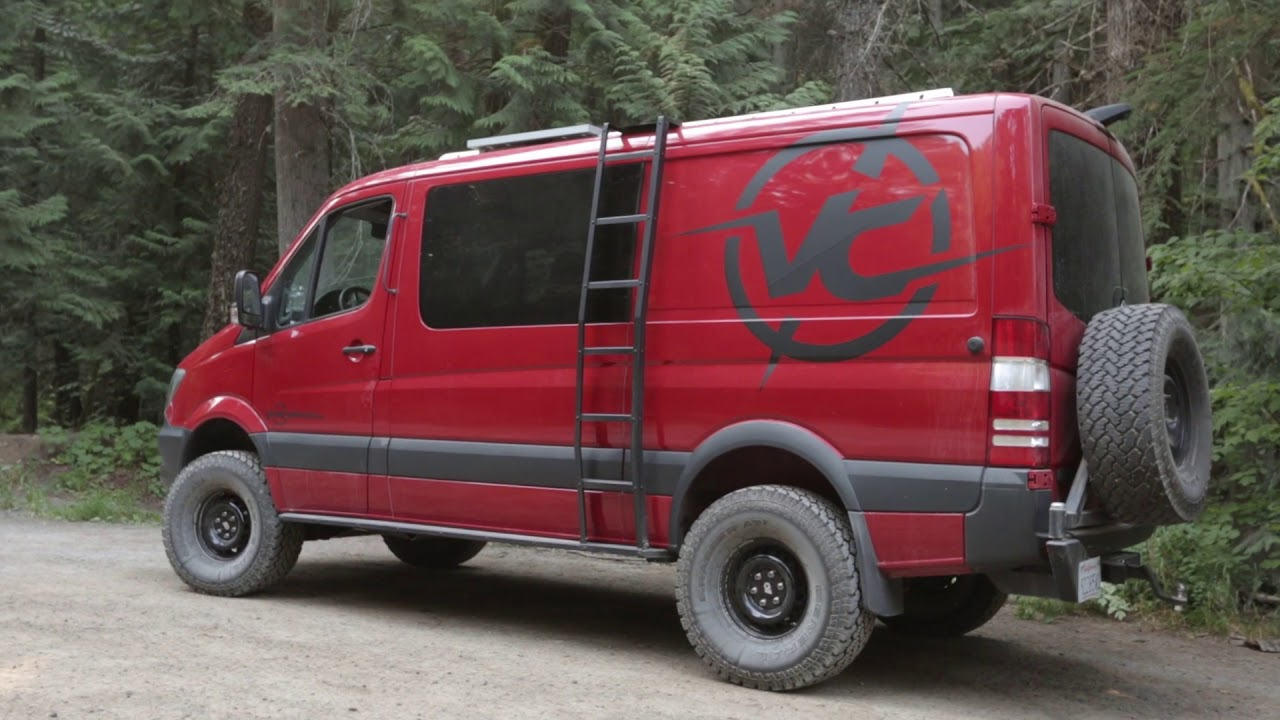 Van Compass 4x4 Mercedes Sprinter 2 Suspension Lift Kit