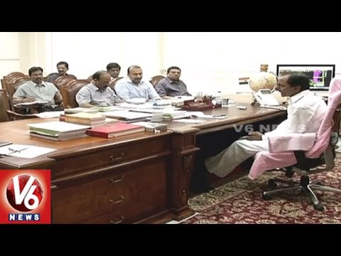 CM KCR Holds Review Meet On Telangana Formation Day Celebrations With Officials | V6 News