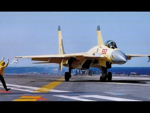 Bird Hit Chinese Naval J 15 Fighter Catches Fire, Lands Safely