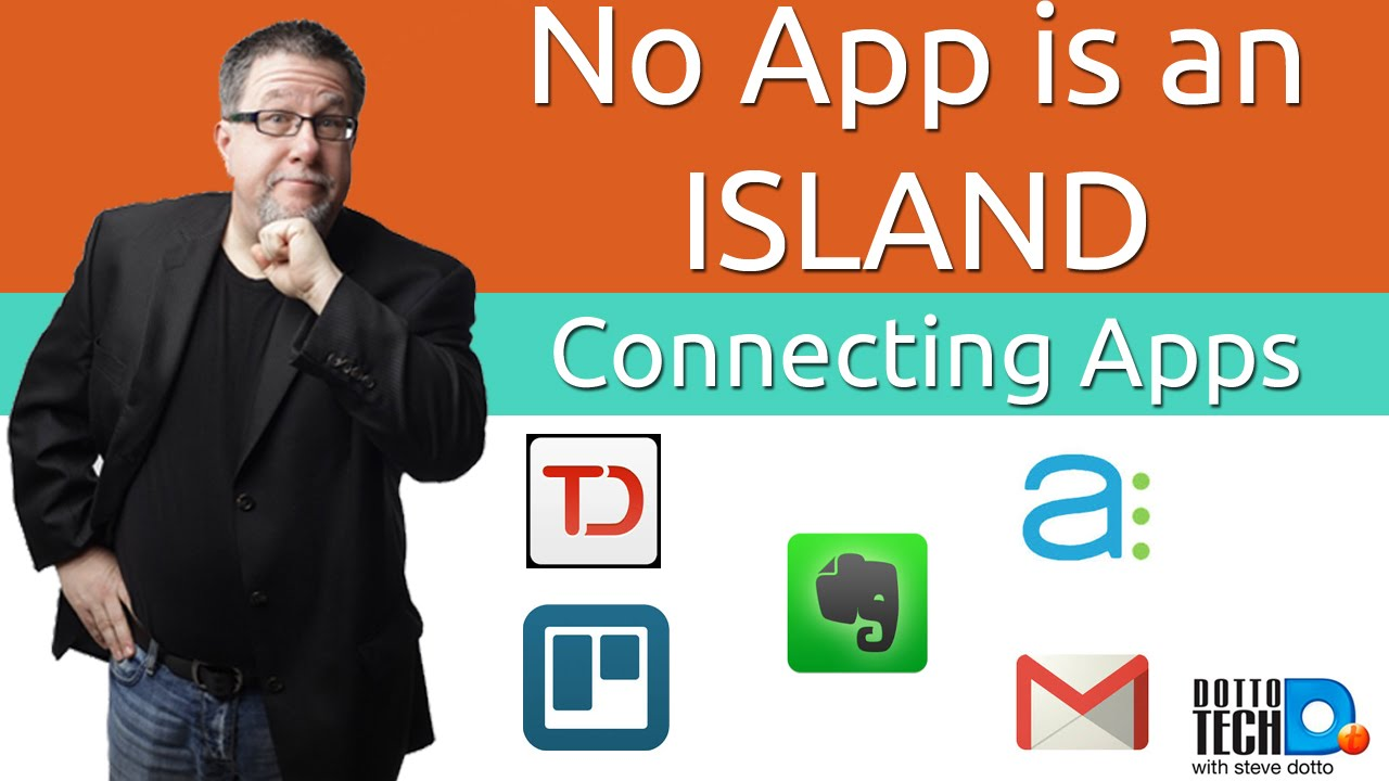 No App is an Island - Connecting All your Productivity Apps