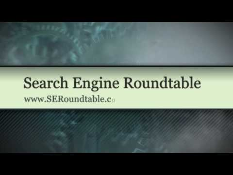 Search Engine Roundtable Opener