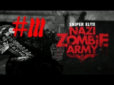 Sniper Elite : Nazi Zombie Army - Co-op #3 Dont play with dynamite in the house  