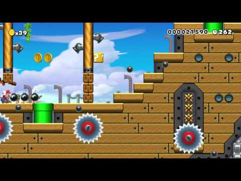 Super Mario Maker - Bowser's Airship Armada by Frisi - No Commentary
