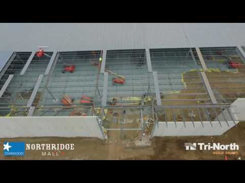 CONSTRUCTION AERIAL: JCPenney - Salinas, CA (8-18-16)