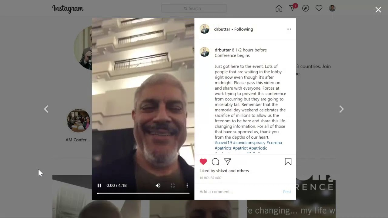 Dr Buttar Instagram Video Updates 23 May 2020