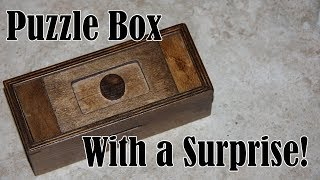 Puzzle Box with a Surprise!