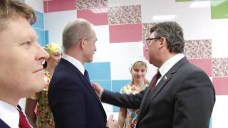 Новая детская поликлиника на ул Ген Мельникова(До открытия остались считанные дни! Поздравляем жителей микрорайона