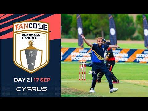 🔴 FanCode European Cricket T10 Cyprus,  Limassol  Day 2 | T10 Live Cricket