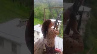 Karadeniz Kadını Dağları İnletiyor Rize !!!!!!!