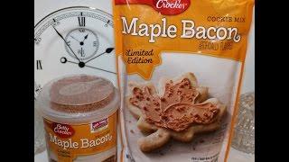 Making Betty Crocker Maple Bacon Cookies