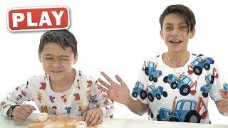 КУКУТИКИ PLAY - Приколы - Разбей Яйцо - РАСПАКОВКА - Тема и Сеня Играют с Игру