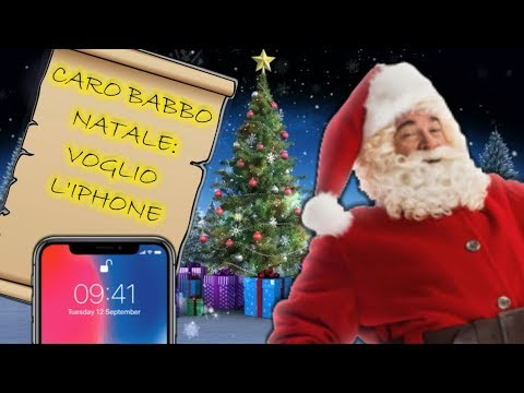 CARO BABBO NATALE, VOGLIO L'IPHONE XS MAX