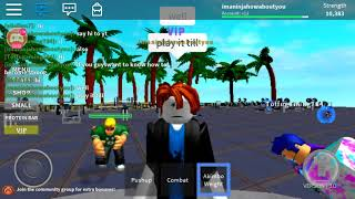 Roblox Weight Lifting Simulator 2 How to be strong(funny)