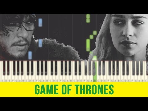 Game Of Thrones Piano Notes Chords Theme Song Easy Tutorial