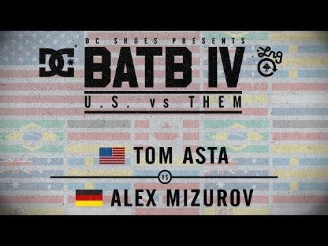Tom Asta Vs Alex Mizurov: BATB4 - Round 1
