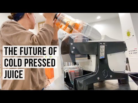 The Future of Cold Press Juice - Goodnature M-1 Review - Commercial Cold Press Juicer