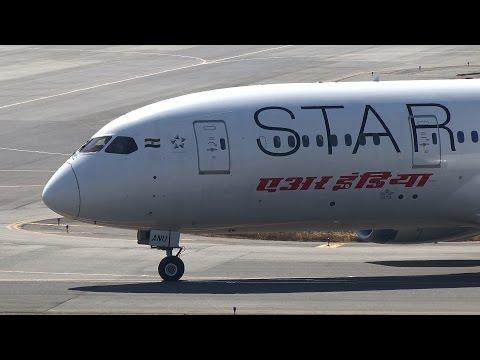 Air India Boeing 787-8 VT-ANU Pushback and Takeoff [KIX/RJBB]