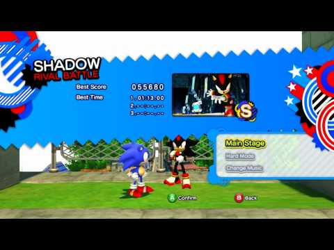 Sonic Generations Classic Speed Highway Red Rings