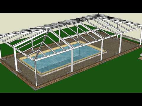 Simple guide to kit form pool enclosure installation process youtube simple guide to kit form pool enclosure installation process solutioingenieria Images